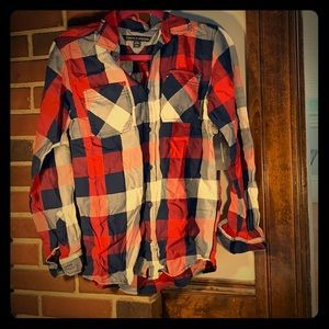 Tommy Hilfiger boys flannel shirt